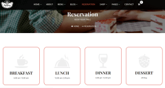 Reservation page of Pepperry