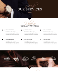 Services Page – Chandelier