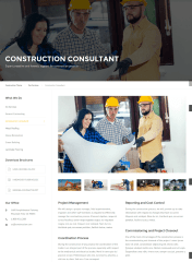 Services Page  Construction  Theme