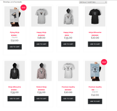 Shop Page of DEXTER