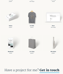 Shop page of Axiom theme