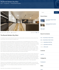 Single Blog Page – Builder