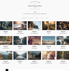 Sortable Portfolio with 5 column grid layout- Outdoor