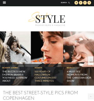 Street style - Fashion and lifestyle WP blogs