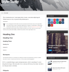 Style Guide Post – Publisher