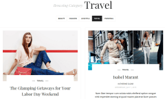 SugarBlog Travel Category Page