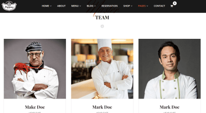 Team page of Pepperry