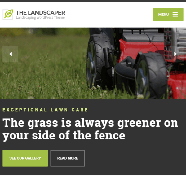 The Landscaper – Landscaping WordPress theme