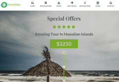 Traveline Special Offer Page