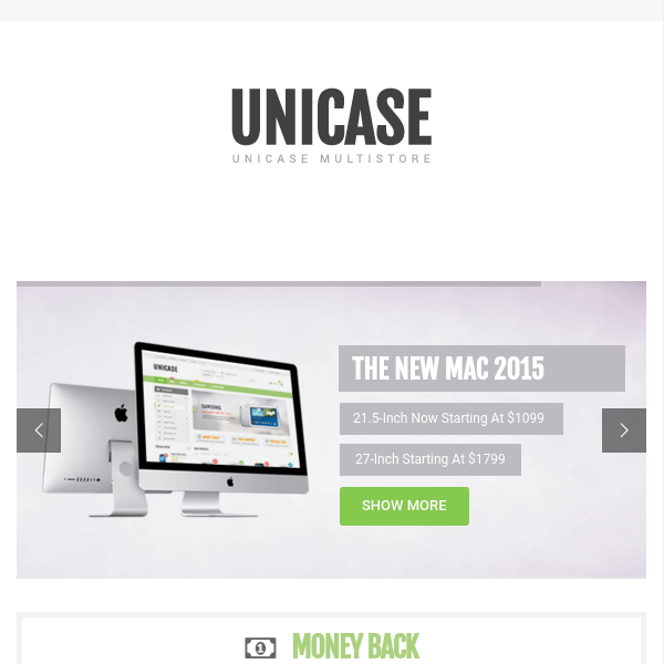 Unicase – Electronics Store WooCommerce Theme