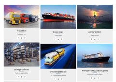 Vehicle Fleet Page – Cargo