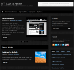 WP-Mysterious-WordPress