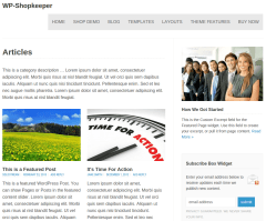 WP-Shopkeepe Articles Page