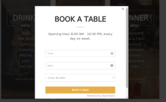 booking form in Nem
