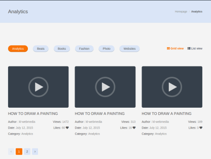 eLearn Video Page