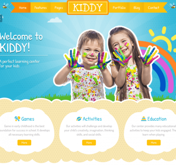 kiddy-WordPress-theme