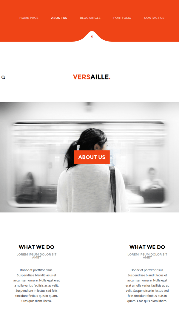 versaille-About