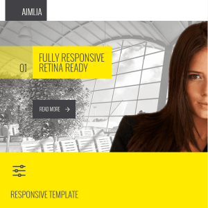 Amilia - Multipurpose One & Multi Page WP Theme