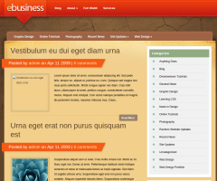 Blog Page of eBusiness