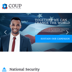 COUP – A POLITICAL CAMPAIGN WORDPRESS THEME