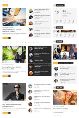 ChillNews – Feature ( Page with blocks)