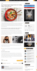 ChillNews – page with right sidebar