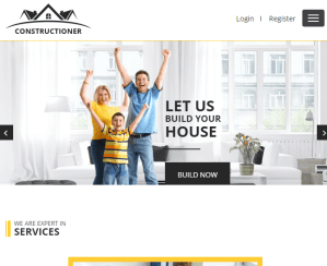 Constructioner - Business WP theme