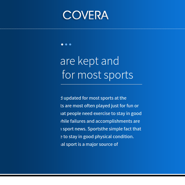 COVERA – FLEXIBLE MULTIPURPOSE WORDPRESS THEME
