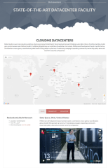 Datacenters page of Cloudme Host