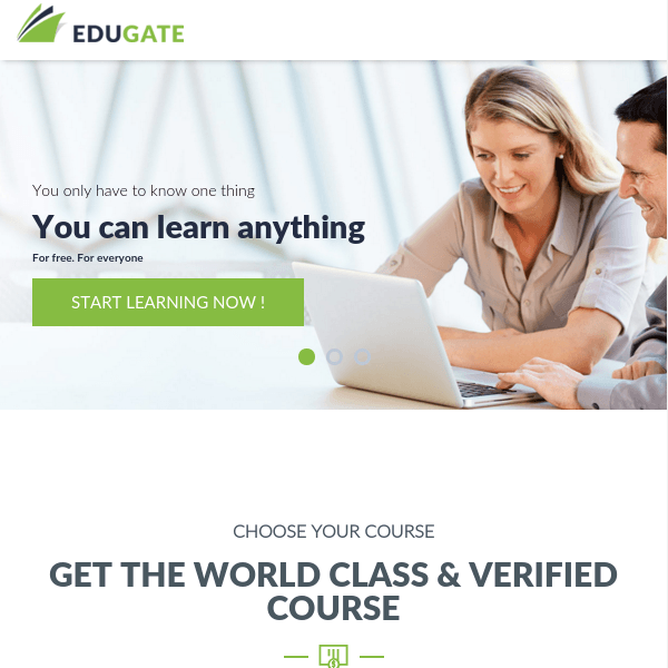 EduGate – Multiconcept Education WordPress Theme