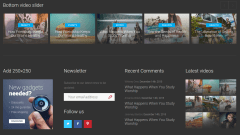 Footer of VideoMag
