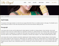 Full Width Page of Regal
