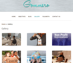 Gallery Page of Gommero