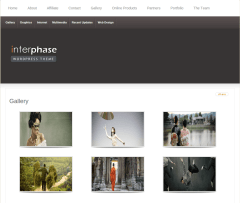 Gallery Page of InterPhase