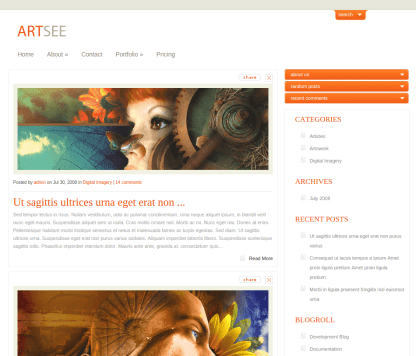 Home Page of ArtSee