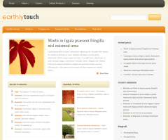 Home Page of EarthlyTouch