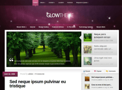 Home Page of Glow