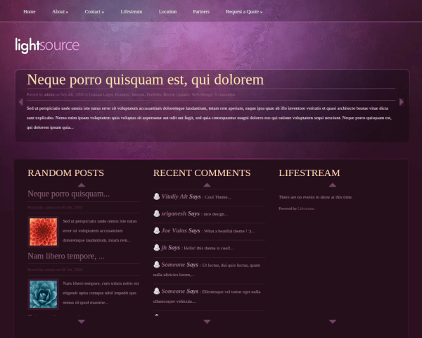 Home Page of LightSource