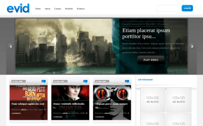 Home Page of eVid