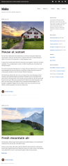 Make Plus – Blog archive page of this theme