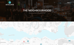 Neighbourhood Page of Developer
