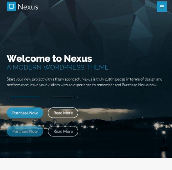 Nexus – Responsive Business WP theme