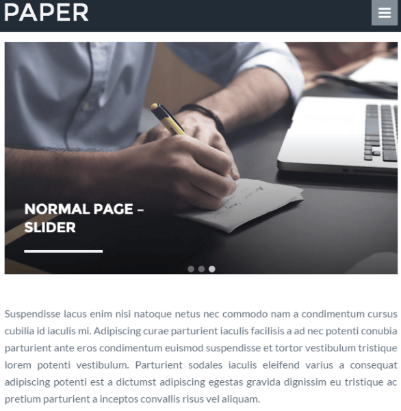 Paper – Blog and Magazine WP theme.