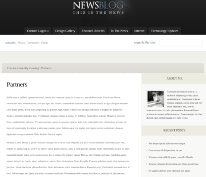 Partner Page of eNews