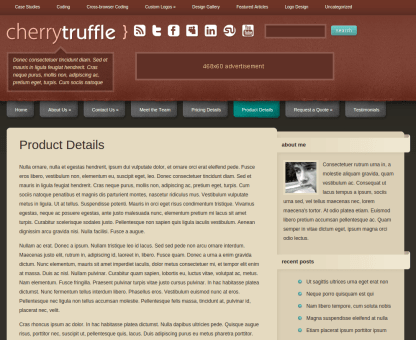 Product Page of CherryTruffle
