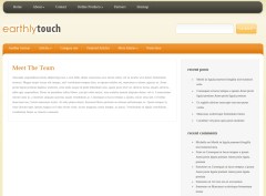 Team Page of EarthlyTouch