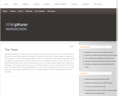 Team Page of InterPhase