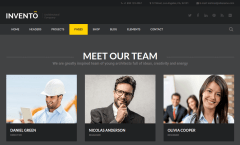 Team Page of Invento