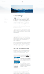 Thirds – sample page