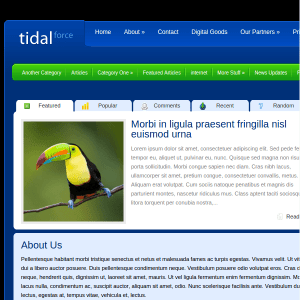 TidalForce WordPress Theme